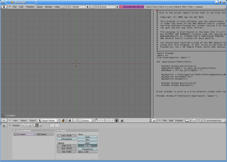 blender how to open obj files